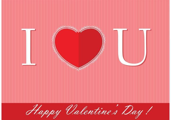 Valentine's Day Free Vector Background