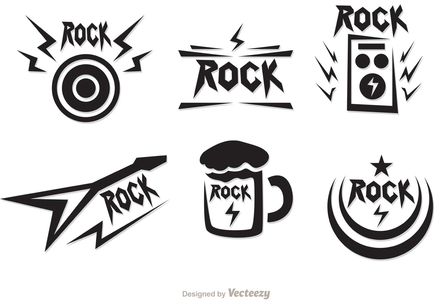 Rock Music Symbols Download Free Vector Art Stock Graphics Images