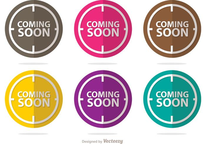 Coming Soon Vectors Pack