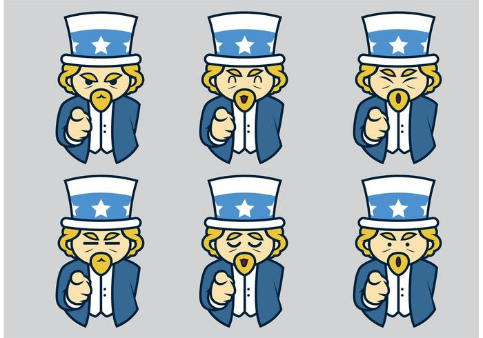 Uncle Sam Vectors