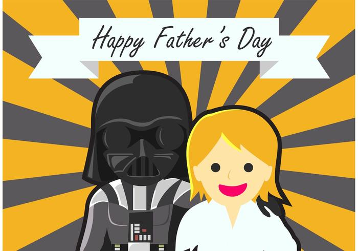 Star Wars Fathers Day Background
