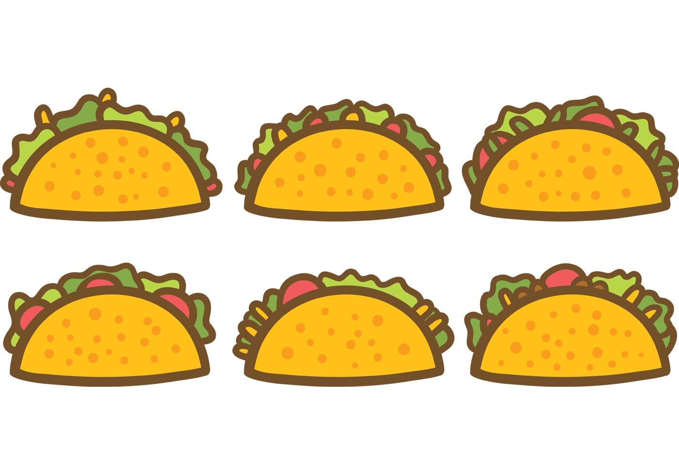 Free Taco Vectors - Download Free Vector Art, Stock Graphics & Images