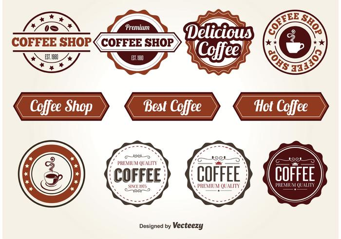 Coffee Vector Elements