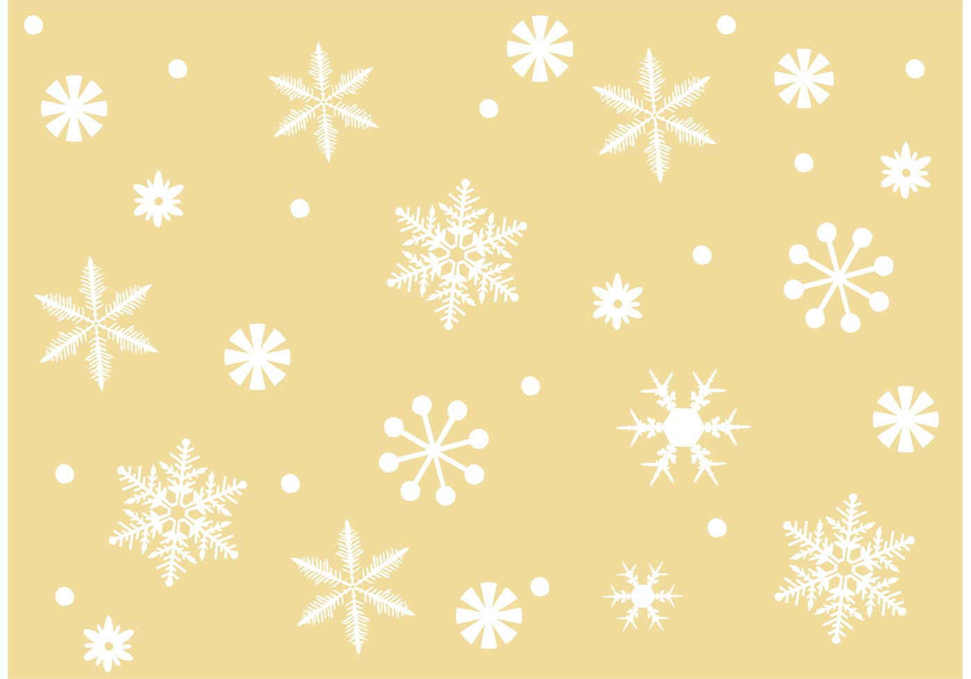 Free Vector Snowflake Background Download Free Vectors