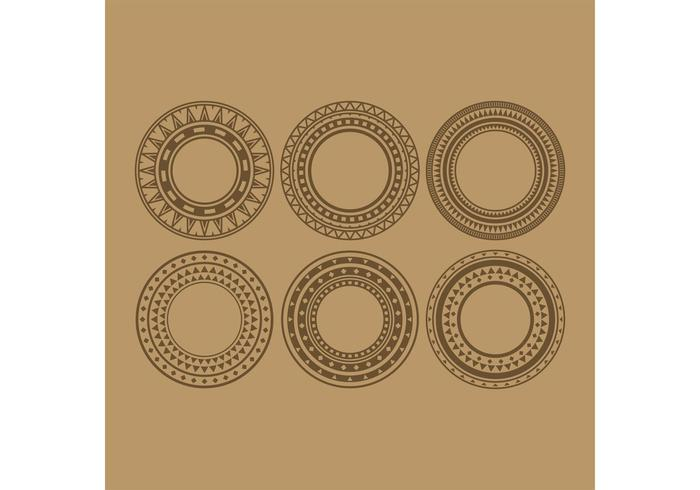 Tribal Circle Vectors