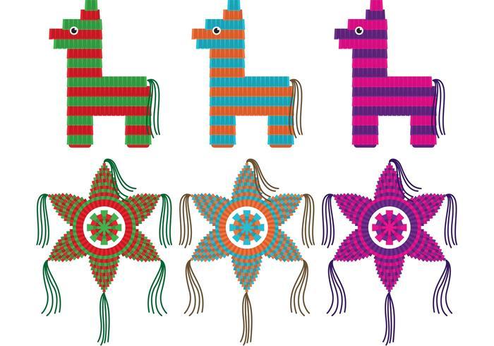 Vecteurs Piñatas