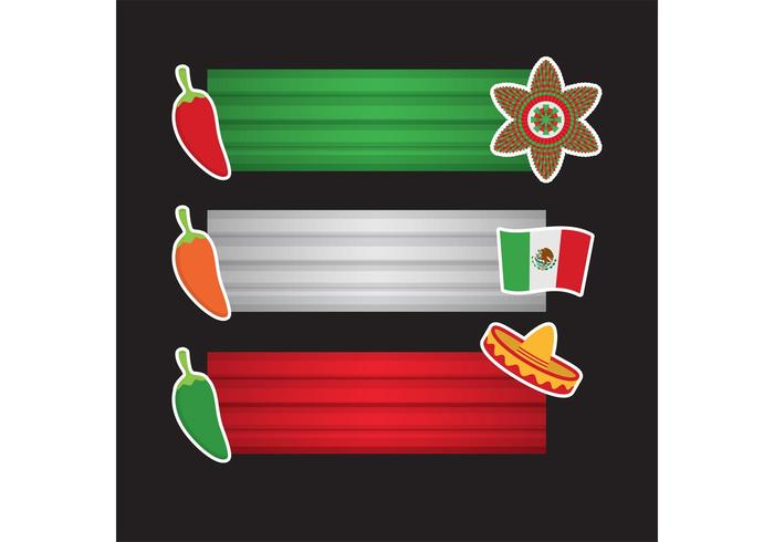 Cinco de Mayo Banners Vector Pack