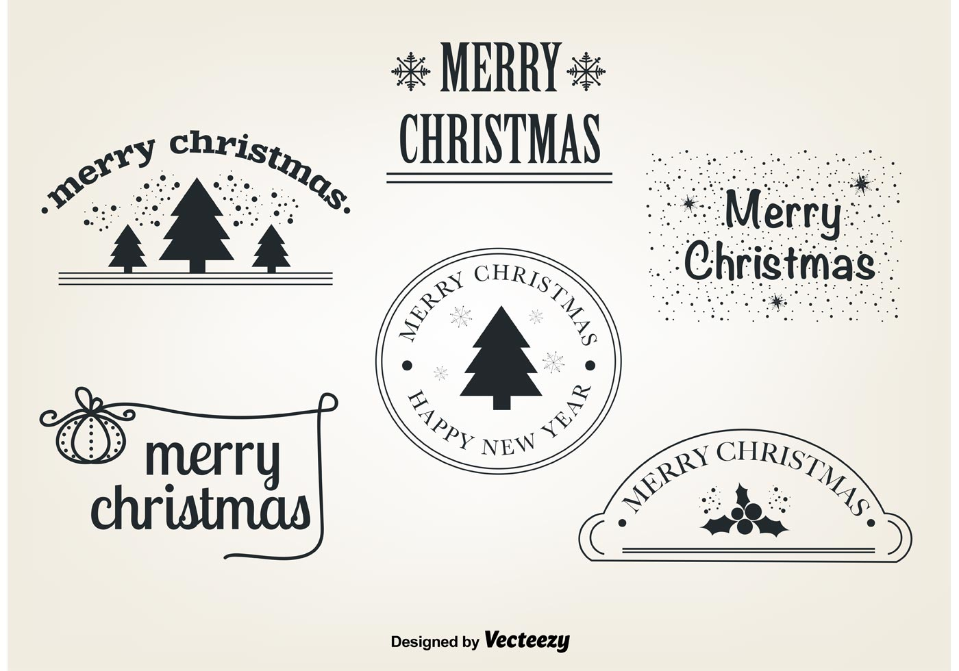 Free Christmas Vector Elements - Download Free Vector Art, Stock ...