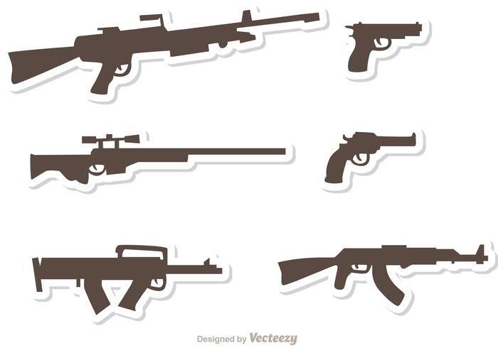 Gun Set Vectors Pack 3