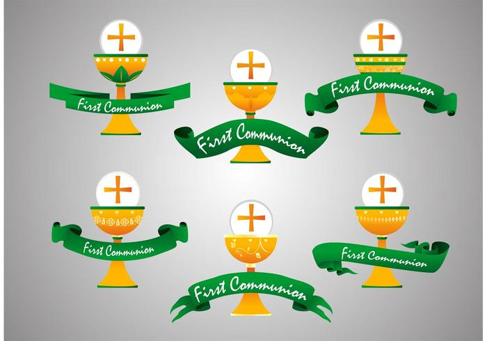 First Communion Vectors