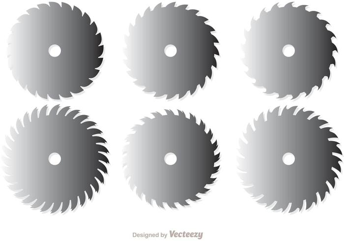 Circular Saw Blades Vector Pack 1