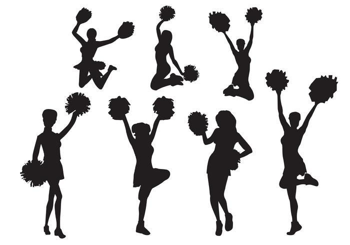 cheerleader clipart svg - photo #48