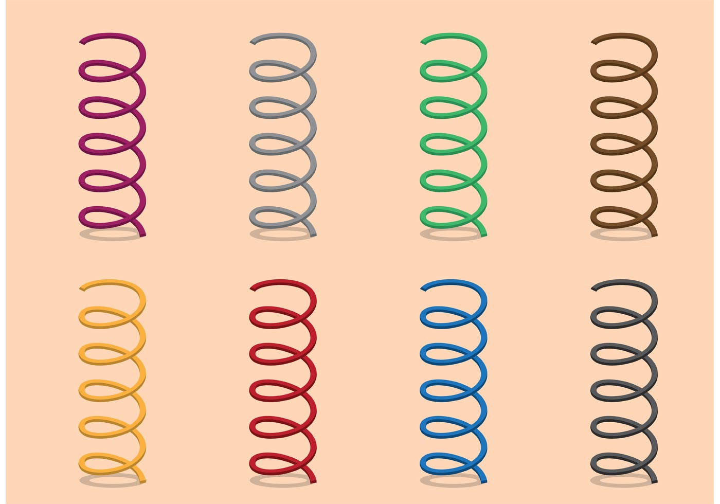 machine design design of coil springs Design various mathematical equations have been developed to describe the properties of springs, based on such factors as wire composition and standard industrial coiling machines can handle steel bar up to 3 in (75 mm) in diameter, and custom springs have reportedly been made from bars.
