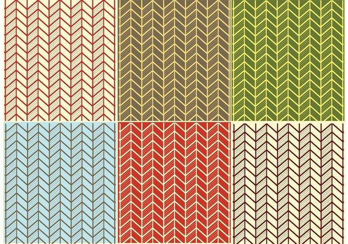 Herringbone Pattern Vectors