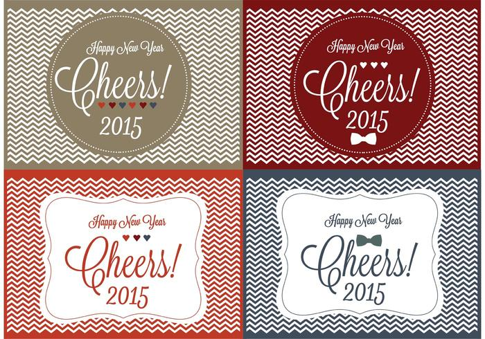 Cheers! New Year Backgrounds