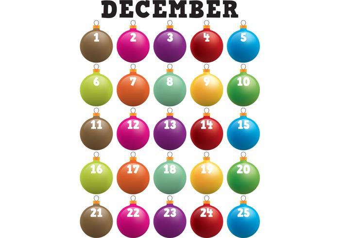 Xmas Ornament Advent Calendar