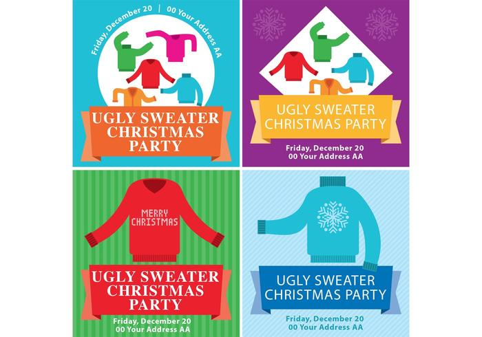 Ugly Christmas Sweater Folletos