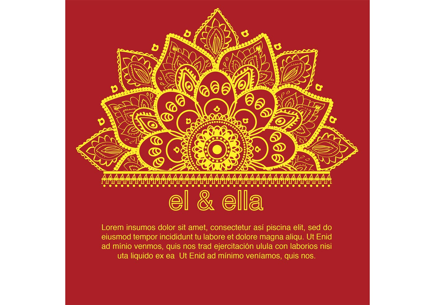 Free Online Indian Wedding Invitation Website: Indian Wedding Card Template