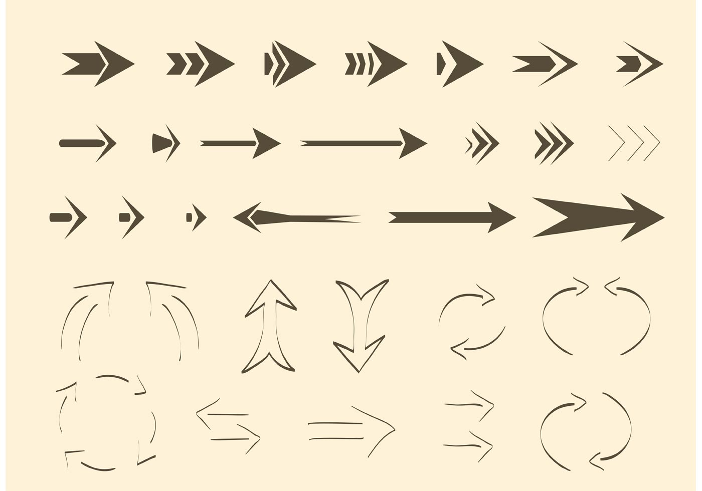 Free Vector Arrows and Lines - Download Free Vectors ...