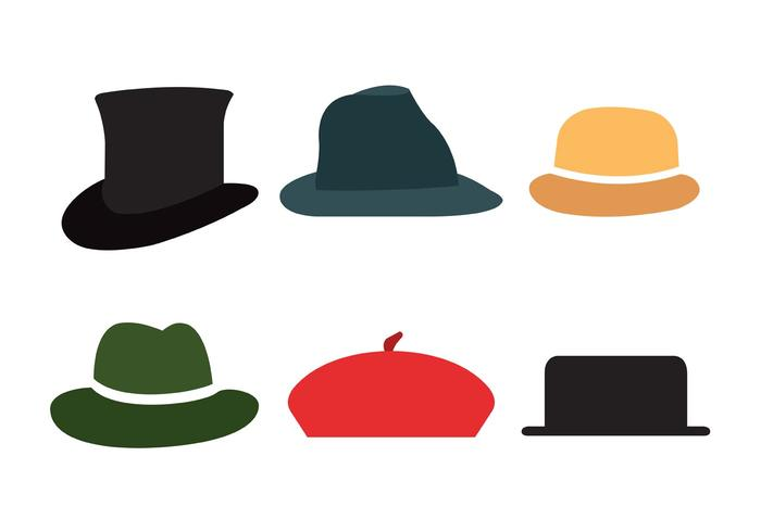Vintage Hat Vectors