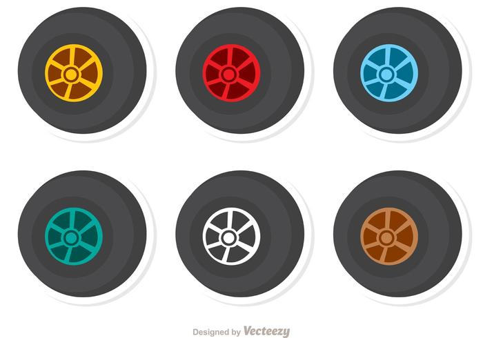 Wheels Racing Vector Pack