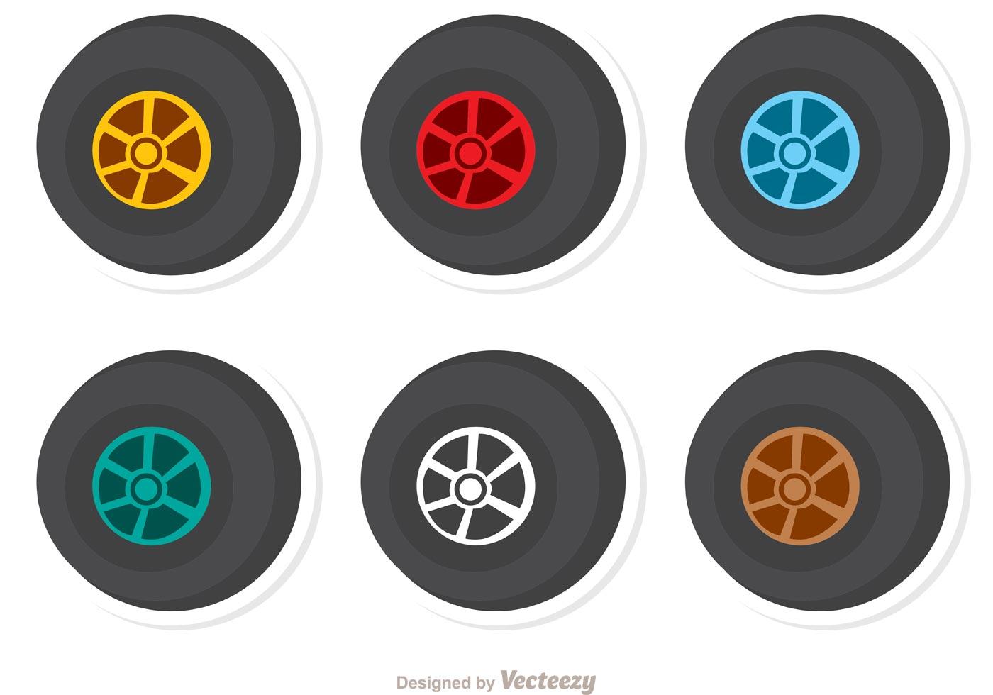 wheels racing vector pack download free vector art