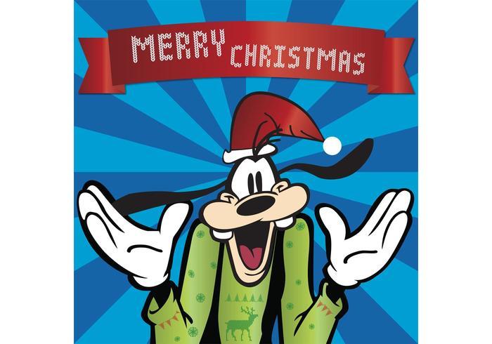 Christmas Goofy Disney Character