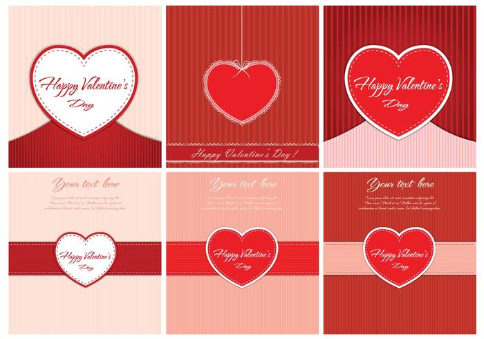 Free Vector Valentine's Day Backgrounds