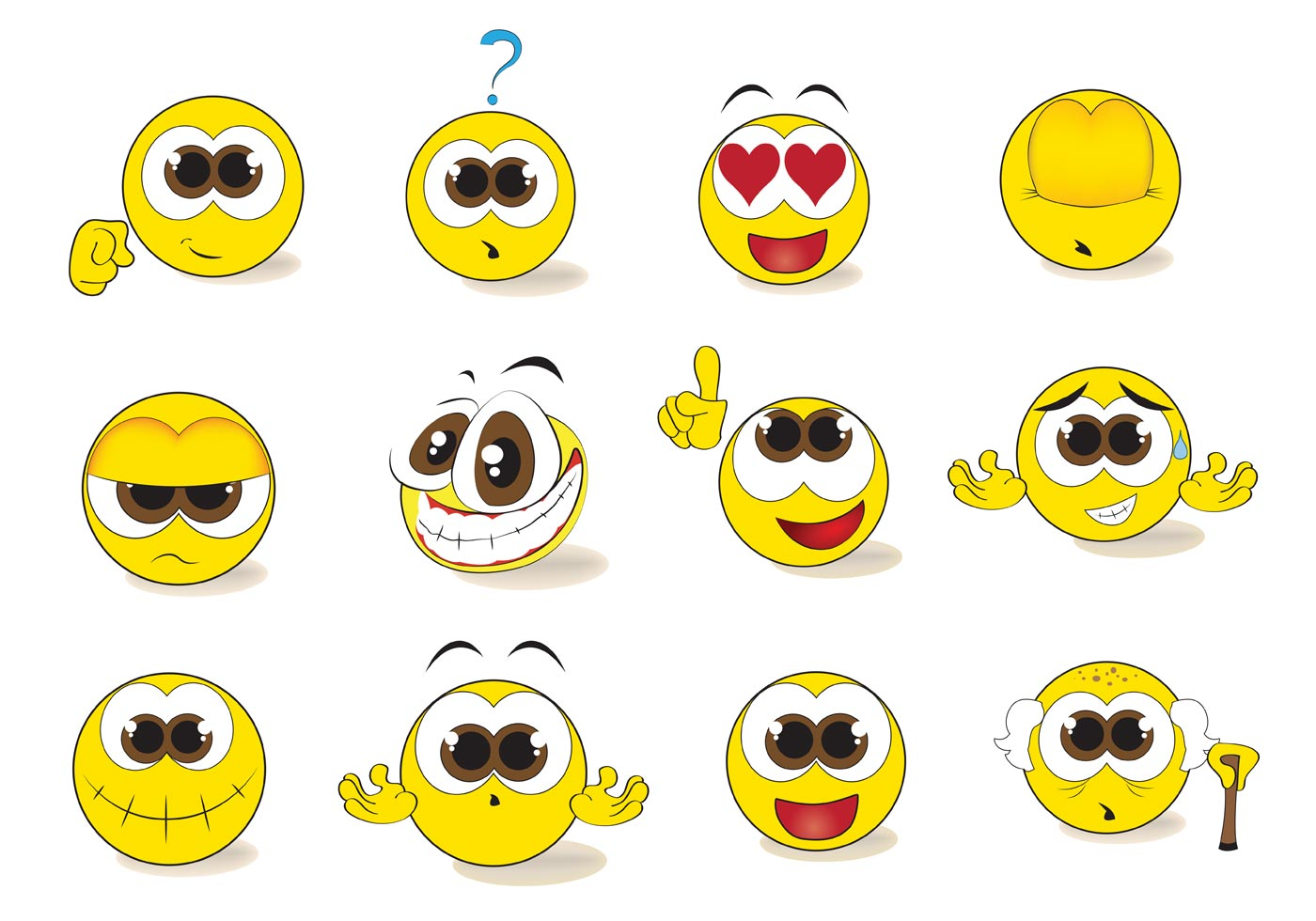 Emoticon Free Vector Art 27791 Free Downloads