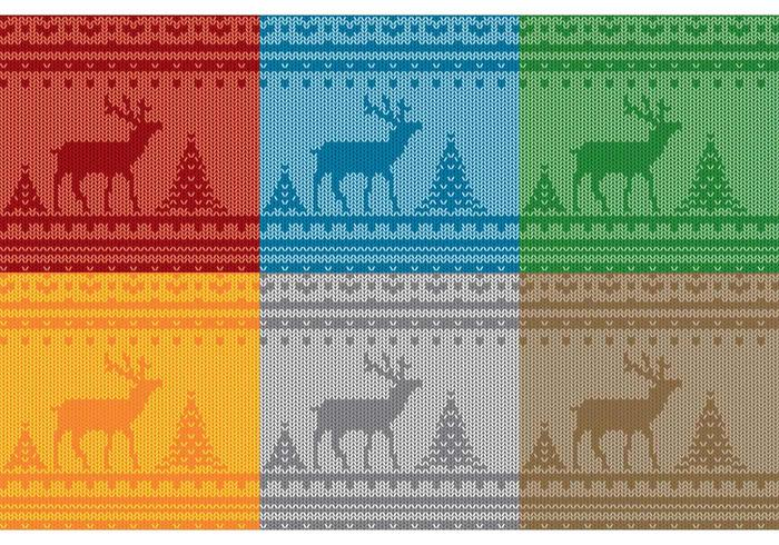 Christmas Reindeer Sweater Patterns