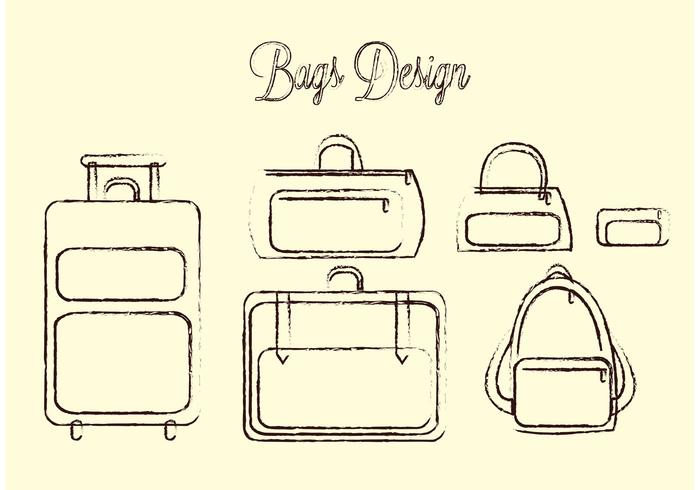 Travel Bag Vector Pack