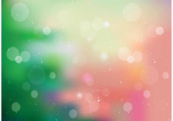 Christmas Bokeh Vector Background