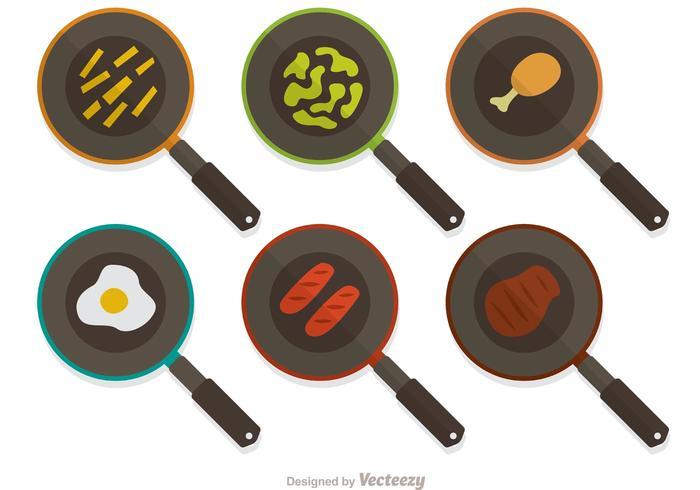 Frying Pan Vector Pack