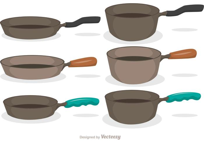 Pan Icons Vector Pack