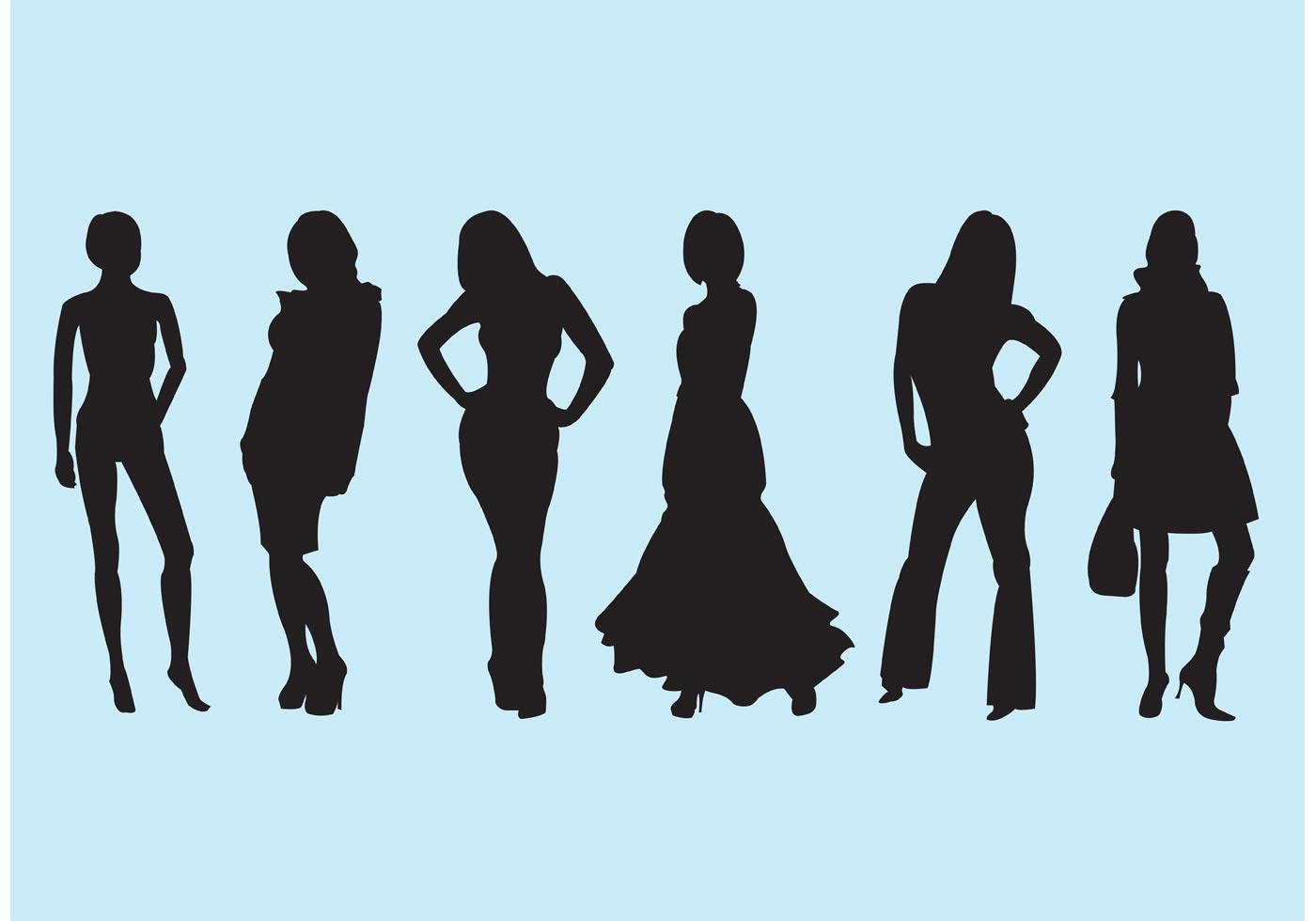 fashion silhouette description - HD1400×980