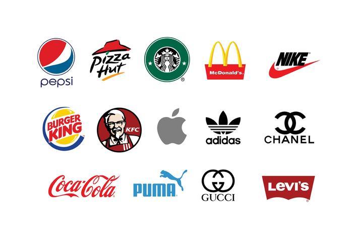 Brands of The World Vectors