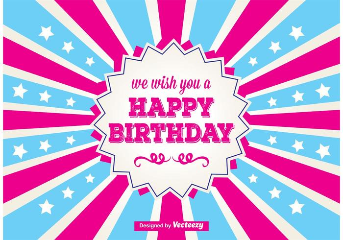 Birthday Free Vector Art 4776 Free Downloads – Vector Birthday Cards