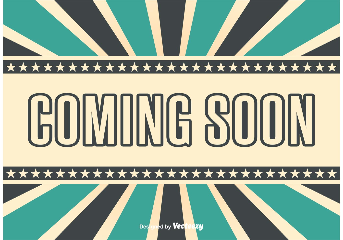 Coming Soon Retro Style Bacground Download Free Vectors