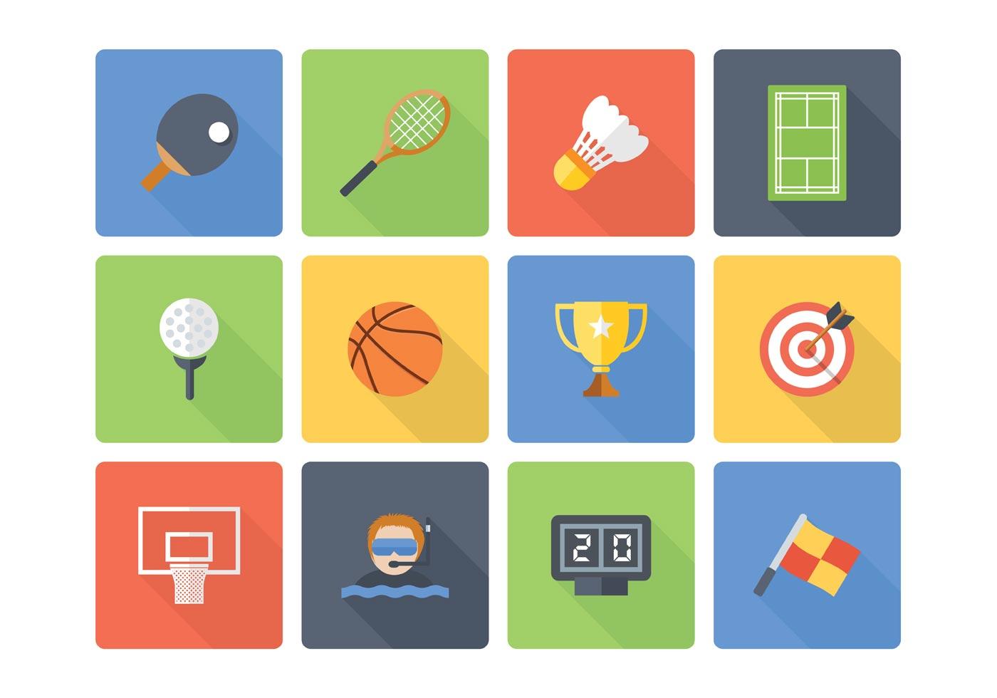 Fondo Con Iconos De Deporte: Download Free Vector Art, Stock