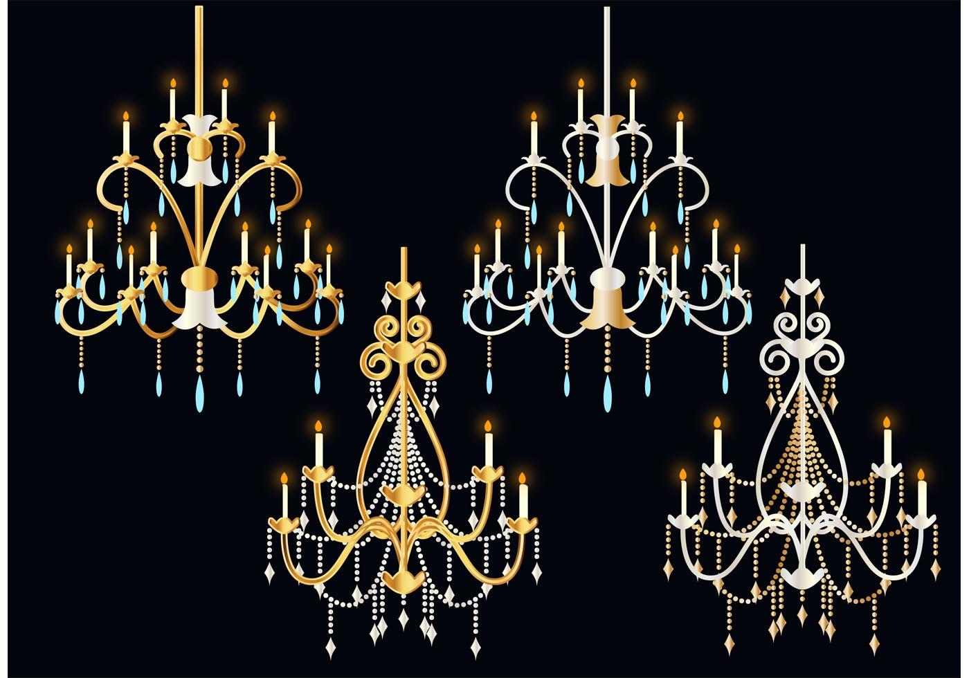 Crystal Chandelier Vectors Download Free Vector Art