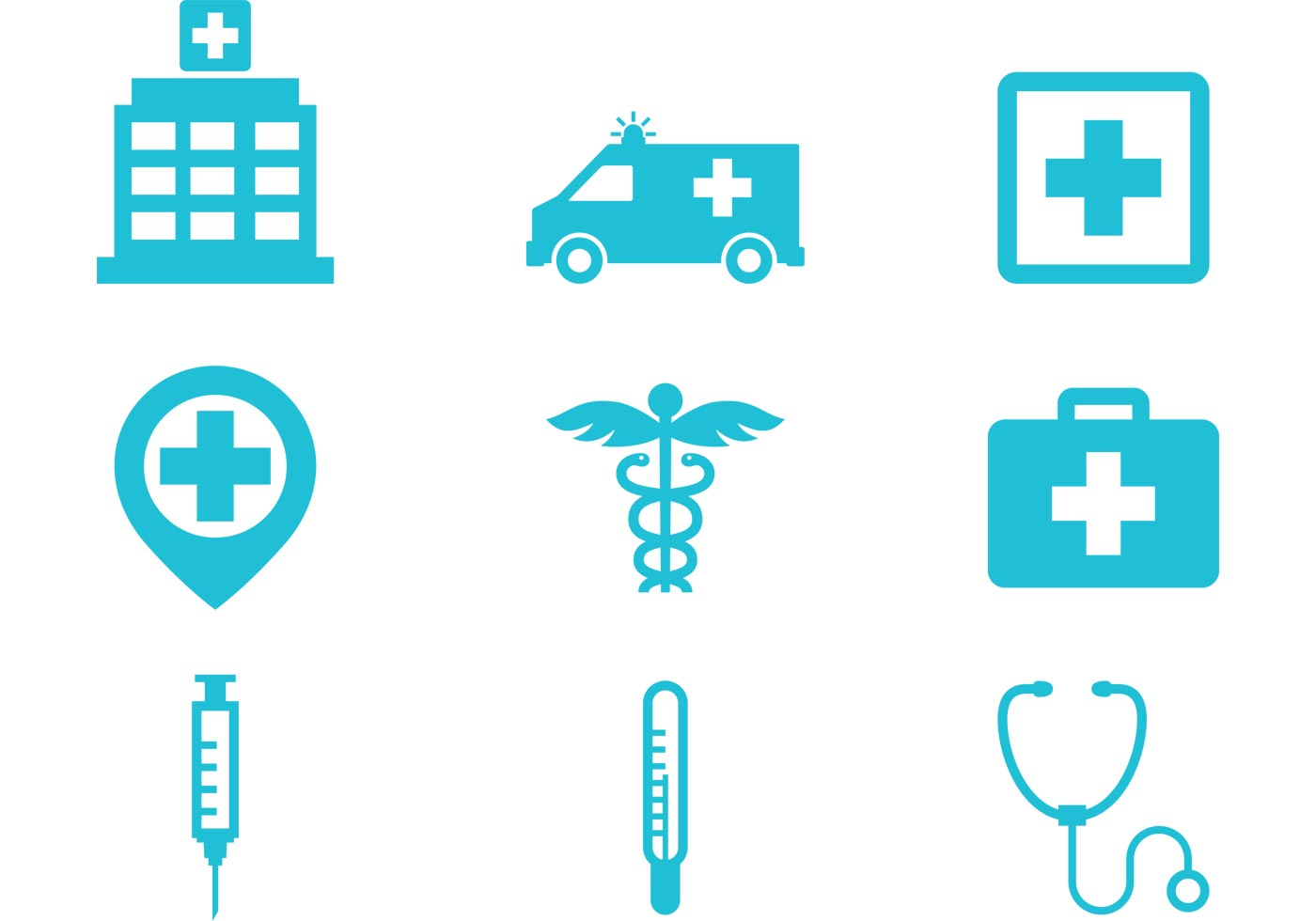 Hospital Icons - Downl...