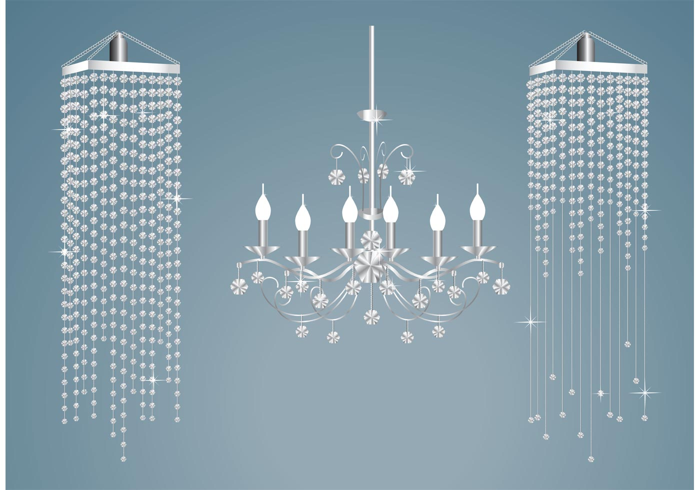 Crystal Chandelier Vectors Download Free Vector Art