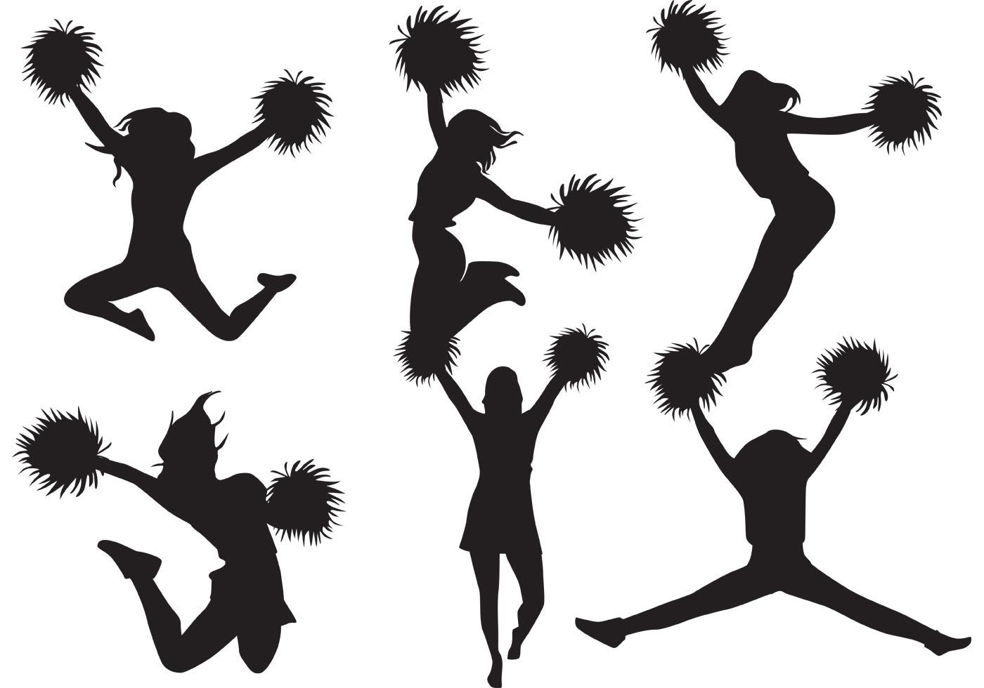 cheerleader clipart svg - photo #23