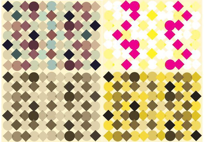 Free Diamond Pattern Vector Background