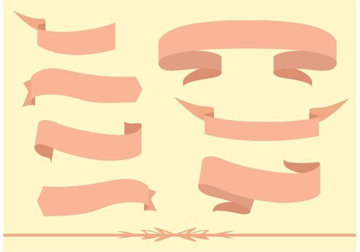 Free vector ribbon set