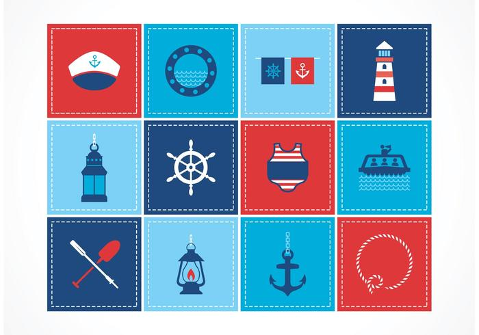 Free Nautical Vector Icons