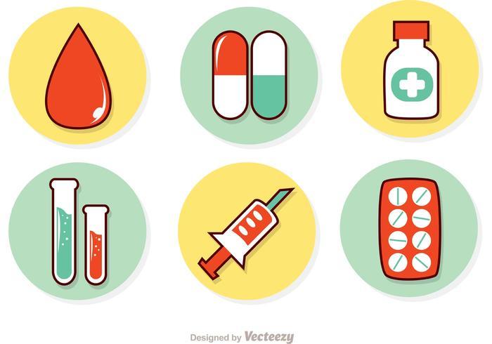 Medicine Sets Vector Pack