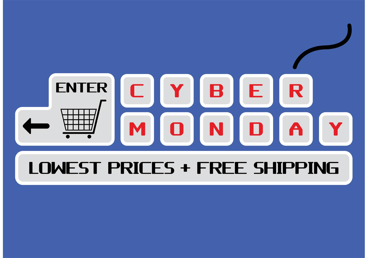 Cyber Monday Vector Download Free Vector Art Stock