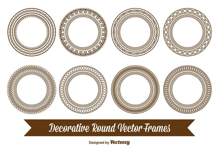 Decorative Round Frames - Download Free Vector Art, Stock Graphics ...