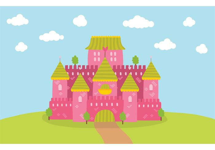 Free Princess Castle Vector